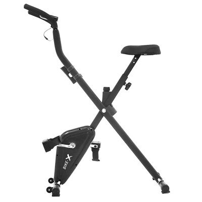 Esprit BIKE-X Foldable Exercise Bike BLACK Fitness Weight Loss Machine 5