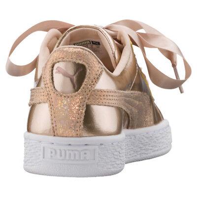 huge discount 87144 ca168 PUMA BASKET HEART Lunar Lux JR Sneakers JUNIOR UK 5.5 EUR 38.5 US 6.5C CM  24.5