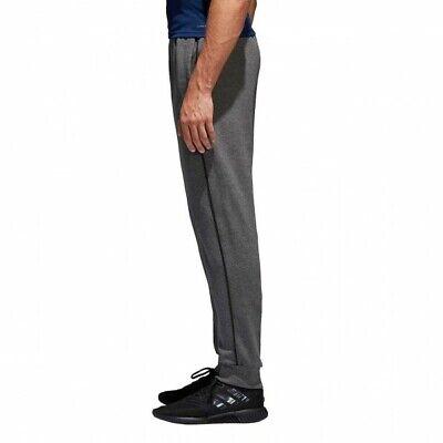Adidas Core 18 Mens Fleece Tracksuit Jogging Bottoms Joggers Black Navy Grey 10