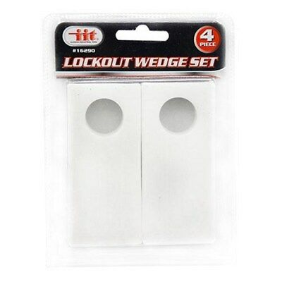 4 PIECE LOCKOUT WEDGE SET FOR AUTO WINDOWS & DOORS Tool Repair Gap 2