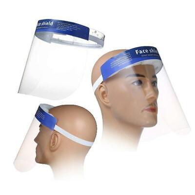 Visiera Di Protezione Schermo Viso Trasparente Plexiglass Paraschizzi Protettiva 5