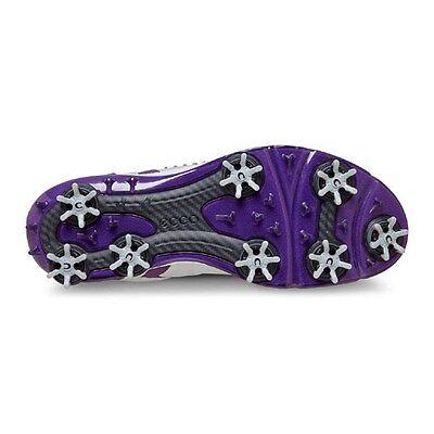 Ecco Damen Golfschuhe - Biom G 2 - Farbe: concrete/imperial purple, neu!