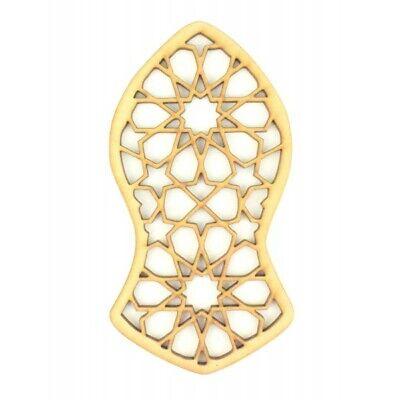 Allah Muhammad Islamic Wooden Wall Art Calligraphy Arabic Living Room decals Mdf 5