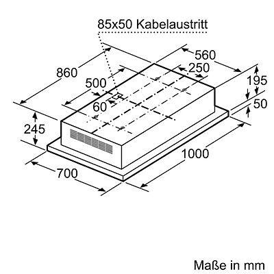 neff icl9046n deckenl fter 100 cm dunstabzugshaube edelstahl umlufthaube eur. Black Bedroom Furniture Sets. Home Design Ideas