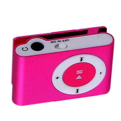 Mini USB Clip Sport MP3 Player Walkman Support Up To 64GB Micro SD Memory Card 6