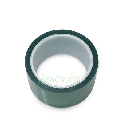 1 Roll 100mm x 100ft Green PET Tape High Temperature Heat Resistant