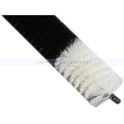 Heizkörperbürste 120 cm mit Ziegenhaar Besatz 50cm ummantelter Draht siehe Video