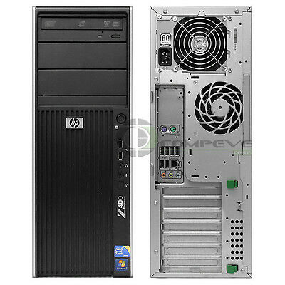 HP Z400 WORKSTATION Barebone System CPU PSU Motherboard DVD-ROM 460839-002