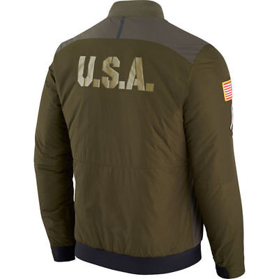 97fc2894c ... INDIANAPOLIS COLTS 2017 NFL Salute to Service Nike Reversible Bomber  Jacket XL