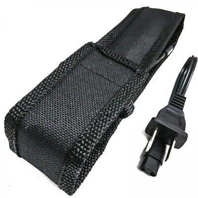 Metal MILITARY Stun Gun 980 Million Volt Rechargeable LED Flashlight + Case 8