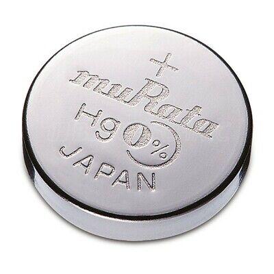 2x Murata/Sony 399 Uhren-Batterie Knopfzelle SR927W AG7 Silberoxid Blister Neu 2