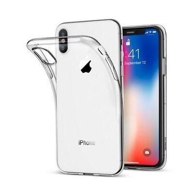 100% Protection Verre trempé écran + Coque iPhone Xs Max XR X 8 Plus 7 6s 5s SE 4