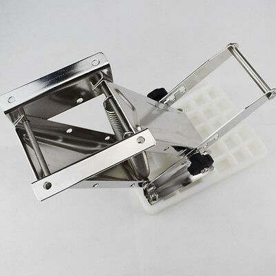 Heavy Duty Stainless Steel White Outboard Motor Bracket Up To 25hp CA STOCKING