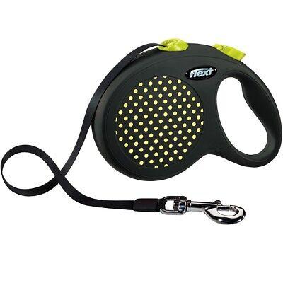 Flexi Reflective Retractable Design Dog Lead Tape / Cord 8-50KGS Extending Leash 2