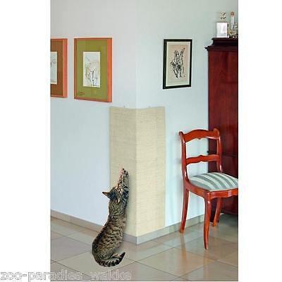 Aktion !!! 3 Stück großes XXL Sisal Eck- Kratzbrett für Katzen 100 x 56 cm 46817