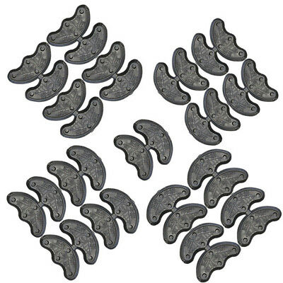 10Pcs/5 Pairs Rubber Heel Savers Toe Plates Taps DIY Shoe Repair Pads replace A 5