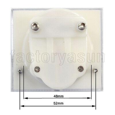DC 500V Analog Panel Volt Voltage Meter Voltmeter Gauge 85C1 0-500V DC White 6