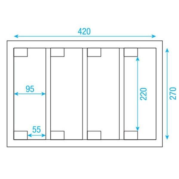 DAP Audio LCA-PAR4 Case für Compact Par Scheinwerfer