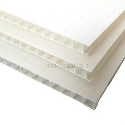2 x Beekeeping 4mm Correx Sheet for Most Beehives