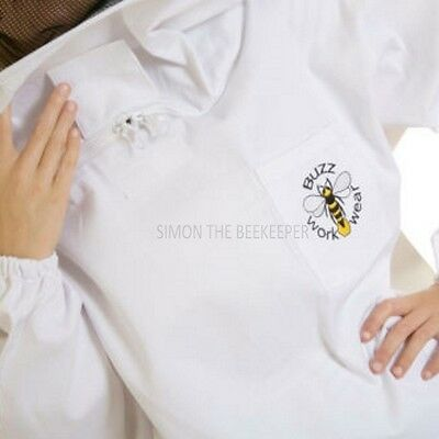 Buzz Beekeepers Bee Jacket/Tunic Round Veil - SMALL 6