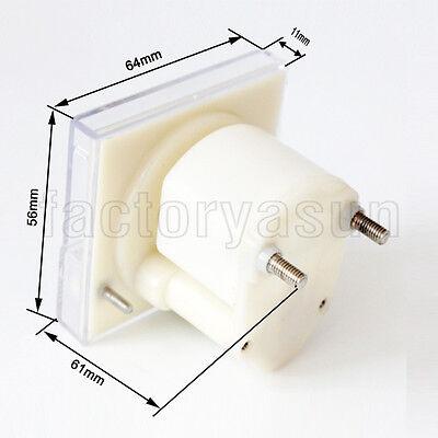 DC 500V Analog Panel Volt Voltage Meter Voltmeter Gauge 85C1 0-500V DC White 5