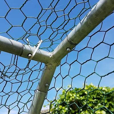 Chicken Run 2M X 3M Walk In Pet Cage Coop For Dog Rabbit Hen Cage Pen Metal Door 6