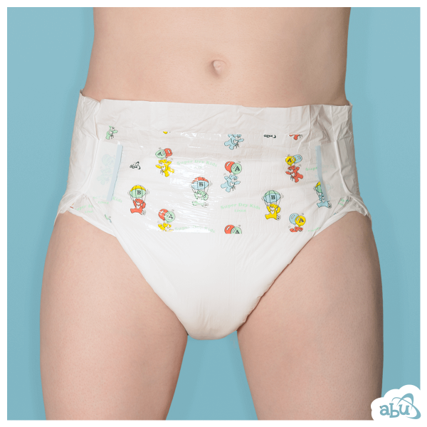 ABUniverse ABU Super Dry Kids SDK Diapers ABDL - Pack of 10 7