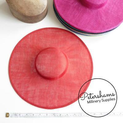 Cartwheel Sinamay Fascinator Hat Base for Millinery & Hat Making 2