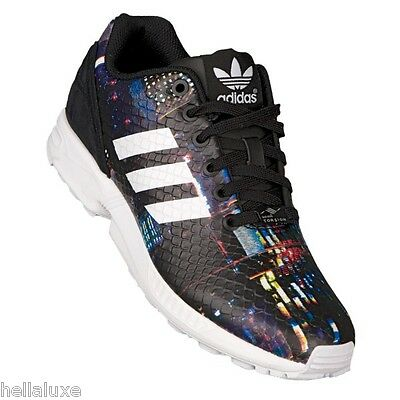 c99411b6beadf ... Adidas ZX FLUX TOKYO CITYSCAPE Running 8000 TORSION Boost gym Shoes~Womens  sz 10 2