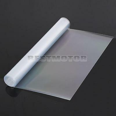 "12"" x 48"" Clear Tint Bra Headlight Bumper Hood Paint Protection Film Vinyl Sheet"