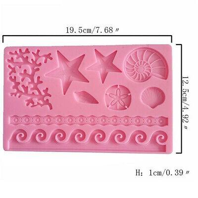Silicone Fondant Cake Mold Mould Chocolate Baking Sugar craft Candy Decor Tools 7