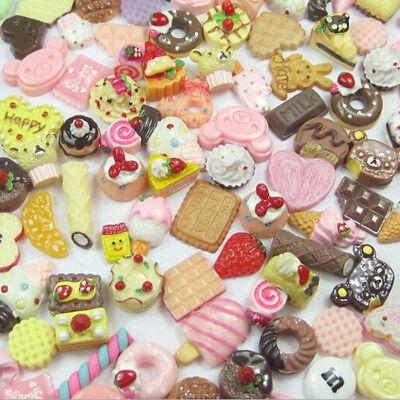 6x Dollhouse Miniature Food Set 1//12 Mini Food Cakes Biscuit For  Doll PESJKUS
