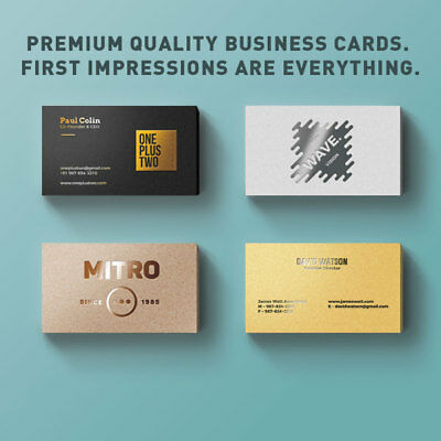 1000 Business Cards THICK 16pt | FULL COLOR | Glossy UV Coating | FREE SHIPPING 2