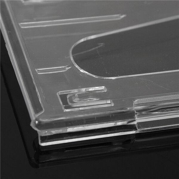 5x Plastic Badge ID Holder Double Side Card Vertical Hard Multi Transparent AU 5