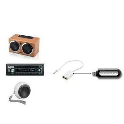 Cavetto Usb Maschio Jack 3,5 Mm Aux Audio Casse Mini Convertire Usb Femmina 6