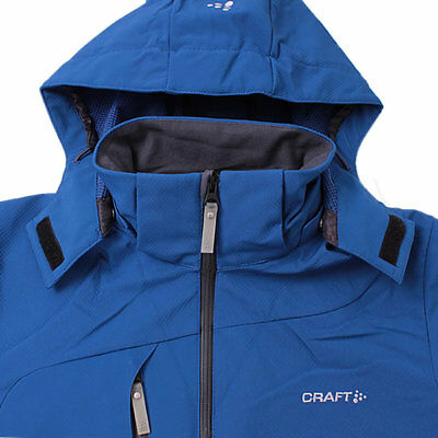 CRAFT HERREN GATE Softshell Jacke Outdoor Funktionsjacke mit