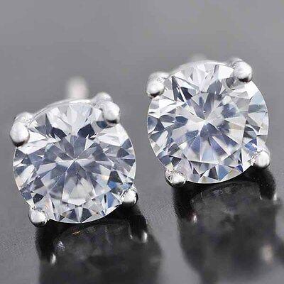 sélection premium 32b72 47e32 BOUCLES D'OREILLES CLOU doré, argenté ronde carré diamant homme et femme  neuve