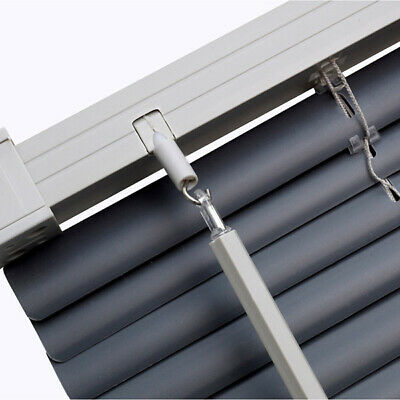 Pvc Venetian Blinds Easy Fit Trimable Home Office Window VENETIAN Blind All Size 2