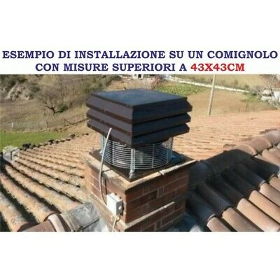 Gemi Basic Chimney Exhaust Fan For Fireplace 110 Volts New!! 4