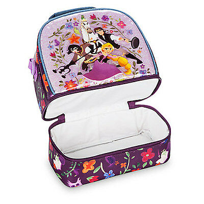 9c95695ded6 ... NWT Disney Store Rapunzel Lunch Box Tote Bag School Tangled the series 2