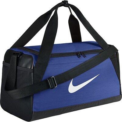 bb58b4740d ... Nike Brasilia Duffle Sports Gym Bag Holdall Duffel Football Team Kit  Bags XS S 2