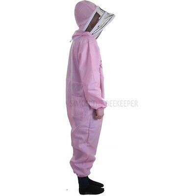 Buzz Basic Beekeepers Suit With Fencing Veil And Gloves - Pink *All Sizes* 3