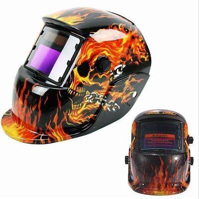 Schweißhelm Schweißmaske Schweißschild Automatik Schweißschirm Helm Skull Maske