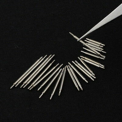 4 PCS Stainless Steel Spring Bar Pins Link For Watch Band Strap Pick Size 6-50mm 2