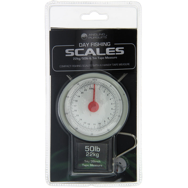 22KG DAY FISHING SCALES NGT TAPE MEASURE NEW NGT CARP//PIKE FISHING 50LB