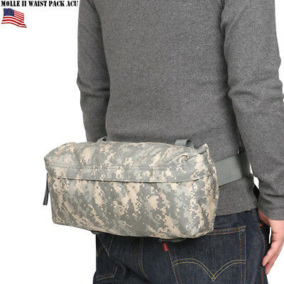 Lot of 2 MOLLE II Waist Pack Butt/Fanny Hip Bag ACU US Military VGC EXCELLENT 9