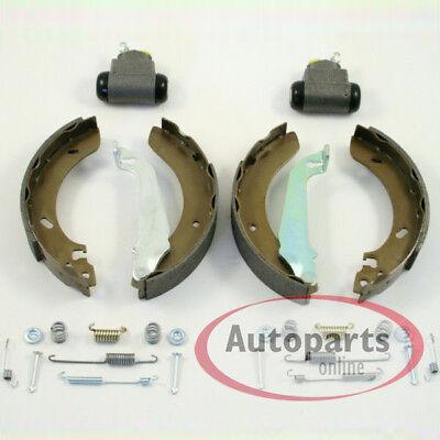 Zimmermann Bremstrommel Set Radzylinder für hinten Hinterachse* Seat Ibiza IV