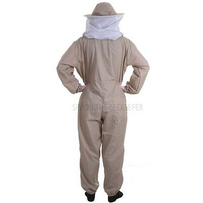 Buzz Basic Beekeepers Suit With Round Veil - Khaki 4 • EUR 21,87