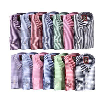 Mens Shirts 2 Pack Oxford Button Down /& 3 Pack Formal Double Cuff /& Cufflink Set