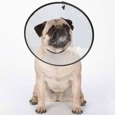 Elizabethan Dog Cat Collar Cone - Total Pet Health- Medical Wound Heal - 5 Sizes 2